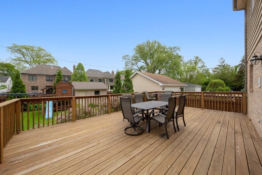 Real Estate Photography - 785 S Fairfield, Elmhurst, IL, 60126 - Deck