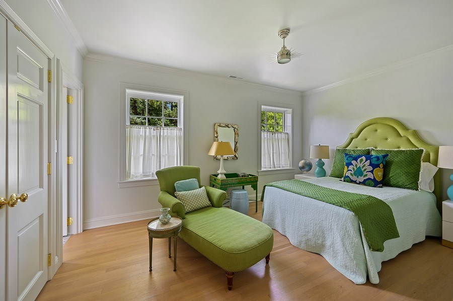 Real Estate Photography - 90 Indian Hill Road, Winnetka, IL, 60093 - 3rd Bedroom
