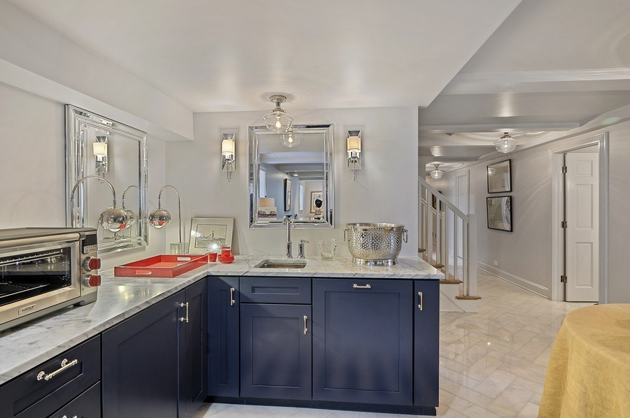 Real Estate Photography - 90 Indian Hill Road, Winnetka, IL, 60093 - Lower Level