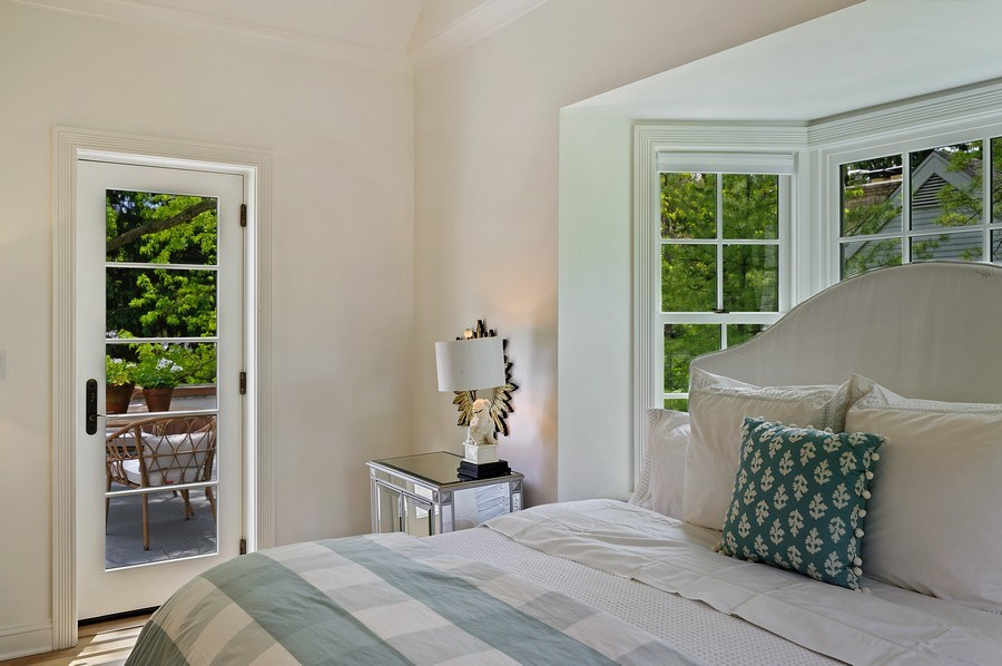 Real Estate Photography - 90 Indian Hill Road, Winnetka, IL, 60093 - Master Bedroom
