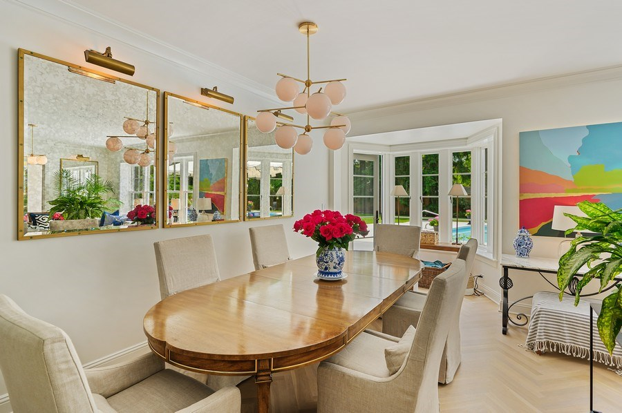 Real Estate Photography - 90 Indian Hill Road, Winnetka, IL, 60093 - Dining Area