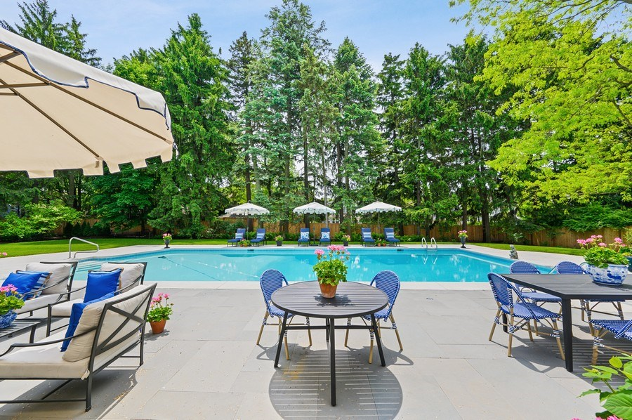 Real Estate Photography - 90 Indian Hill Road, Winnetka, IL, 60093 - Patio