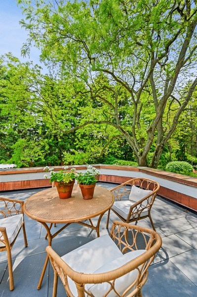 Real Estate Photography - 90 Indian Hill Road, Winnetka, IL, 60093 - Balcony