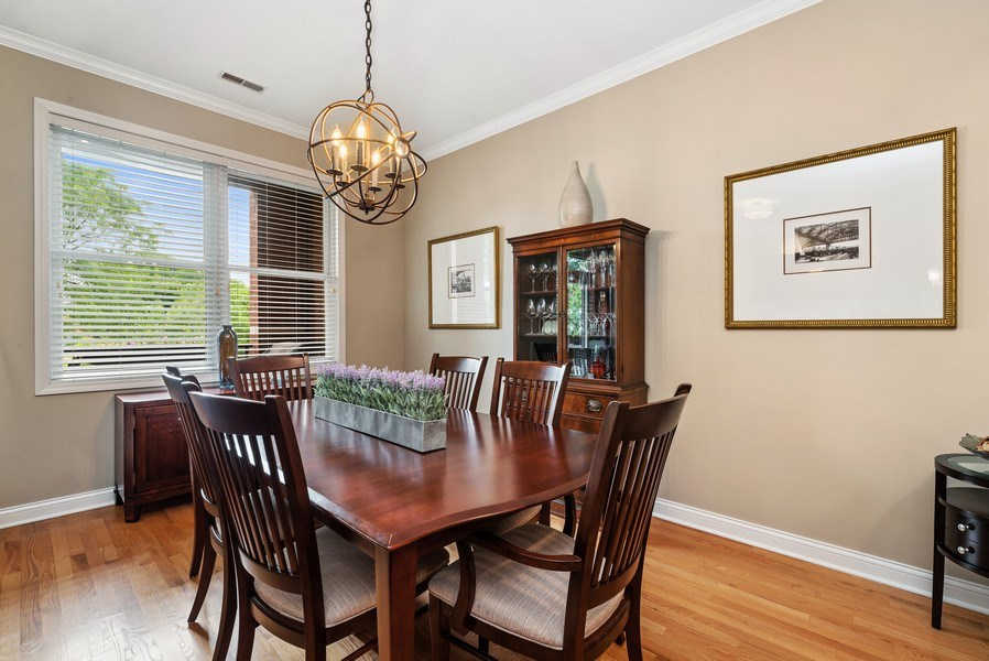 Real Estate Photography - 4721 N. Clark St, #2N, Chicago, IL, 60640 - Dining Room