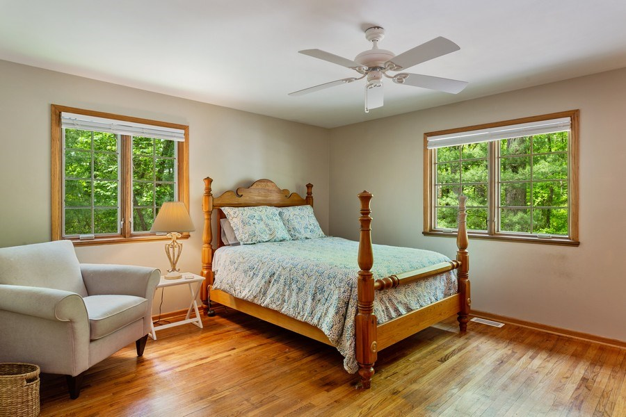 Real Estate Photography - 219 Chickadee Trail, Michigan City, IN, 46360 - Master Bedroom