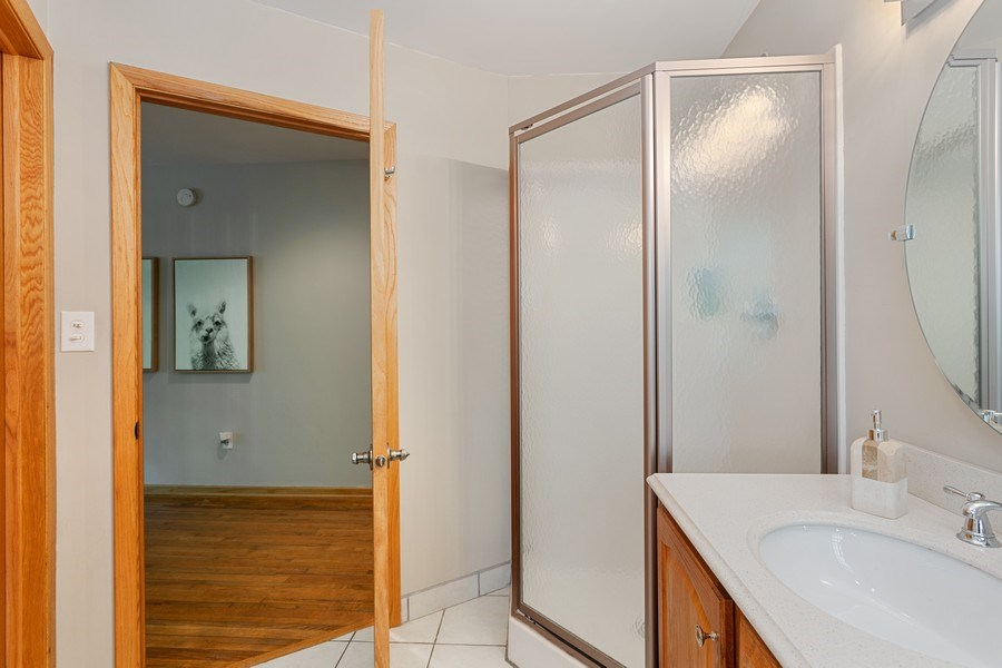 Real Estate Photography - 219 Chickadee Trail, Michigan City, IN, 46360 - Master Bathroom