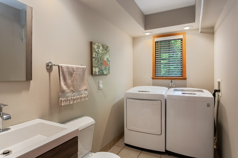 Real Estate Photography - 219 Chickadee Trail, Michigan City, IN, 46360 - Laundry Room