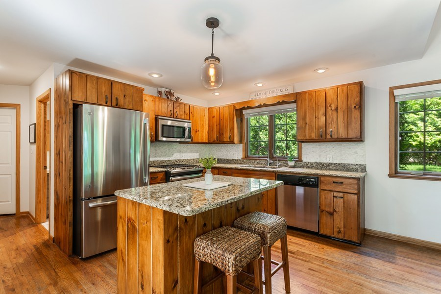 Real Estate Photography - 219 Chickadee Trail, Michigan City, IN, 46360 - Kitchen
