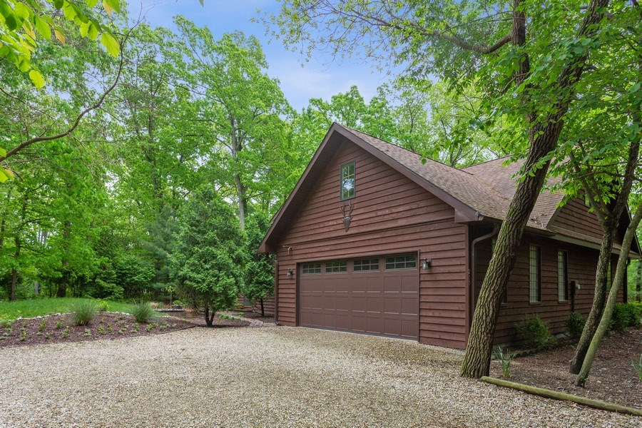 Real Estate Photography - 219 Chickadee Trail, Michigan City, IN, 46360 - Rear View