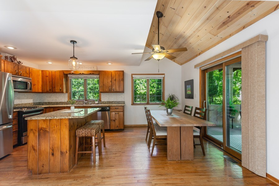 Real Estate Photography - 219 Chickadee Trail, Michigan City, IN, 46360 - Kitchen / Dining Room