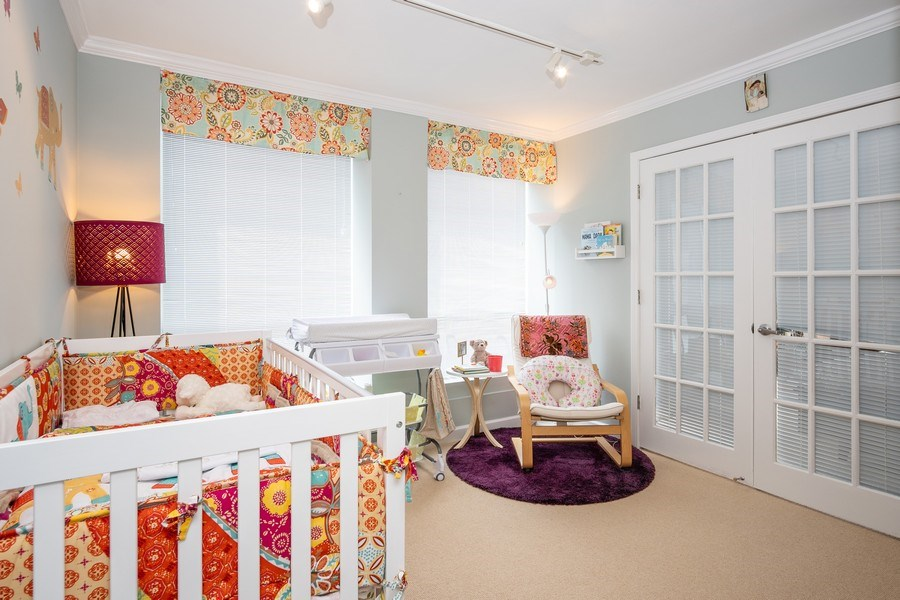 Real Estate Photography - 260 E Chestnut St, Unit 2401, Chicago, IL, 60611 - Bedroom