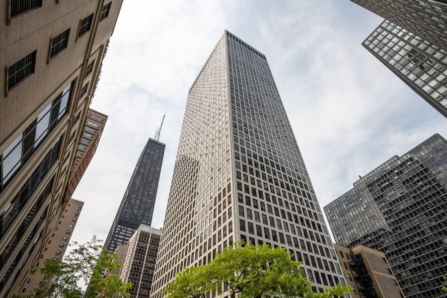 Real Estate Photography - 260 E Chestnut St, Unit 2401, Chicago, IL, 60611 - Front View