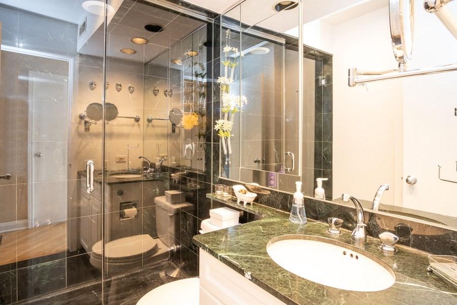 Real Estate Photography - 260 E Chestnut St, Unit 2401, Chicago, IL, 60611 - Bathroom