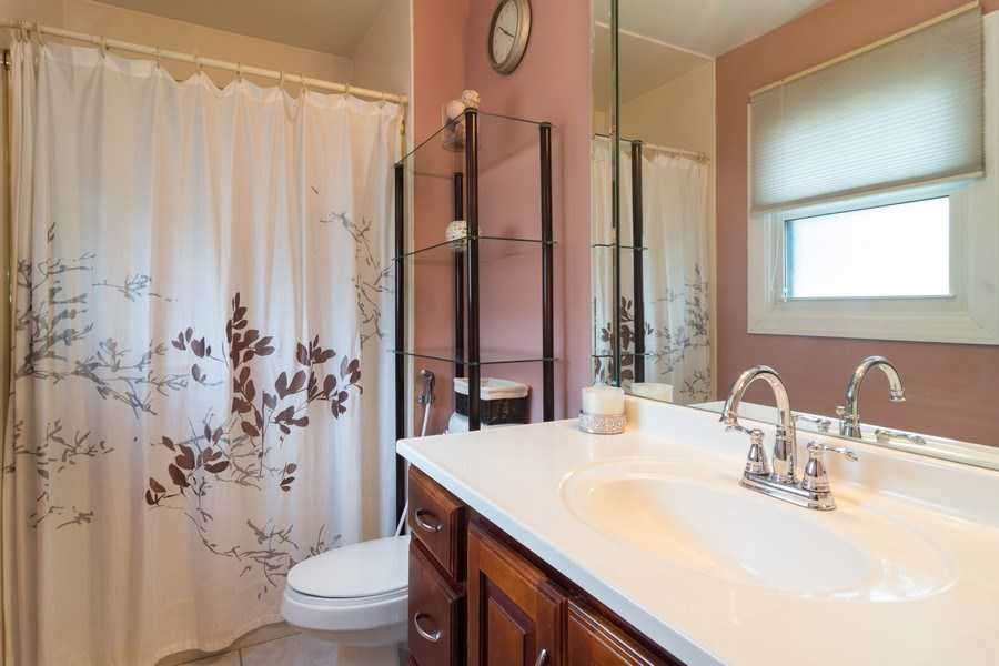 Real Estate Photography - 4155 Crimson Dr, Hoffman Estates, IL, 60192 - Master Bathroom