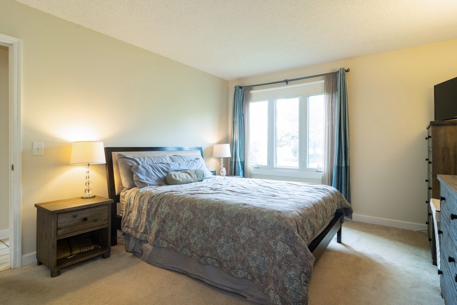 Real Estate Photography - 4155 Crimson Dr, Hoffman Estates, IL, 60192 - Master Bedroom