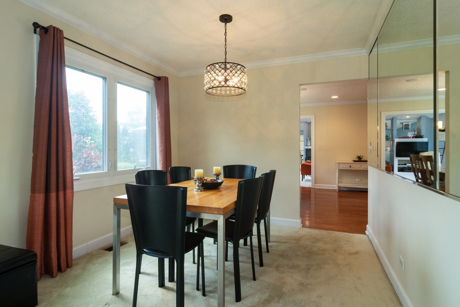 Real Estate Photography - 4155 Crimson Dr, Hoffman Estates, IL, 60192 - Dining Room
