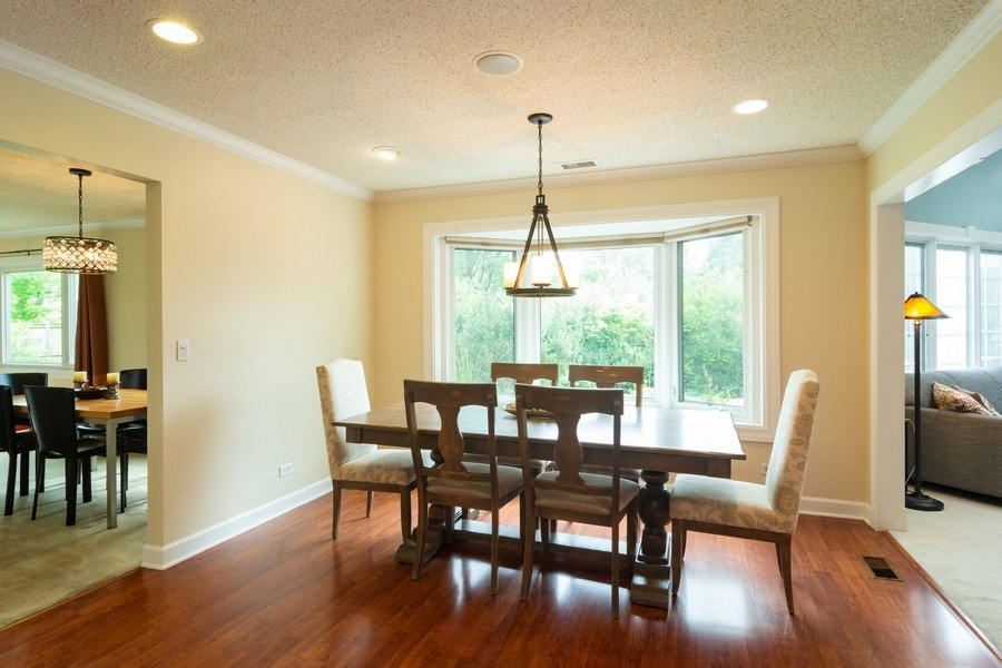 Real Estate Photography - 4155 Crimson Dr, Hoffman Estates, IL, 60192 - Dining Area