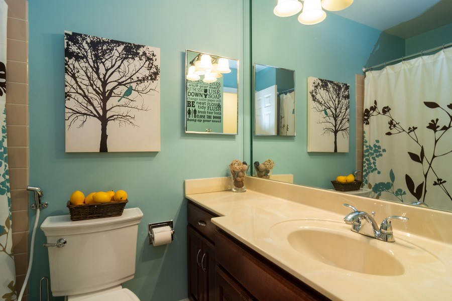 Real Estate Photography - 4155 Crimson Dr, Hoffman Estates, IL, 60192 - Bathroom