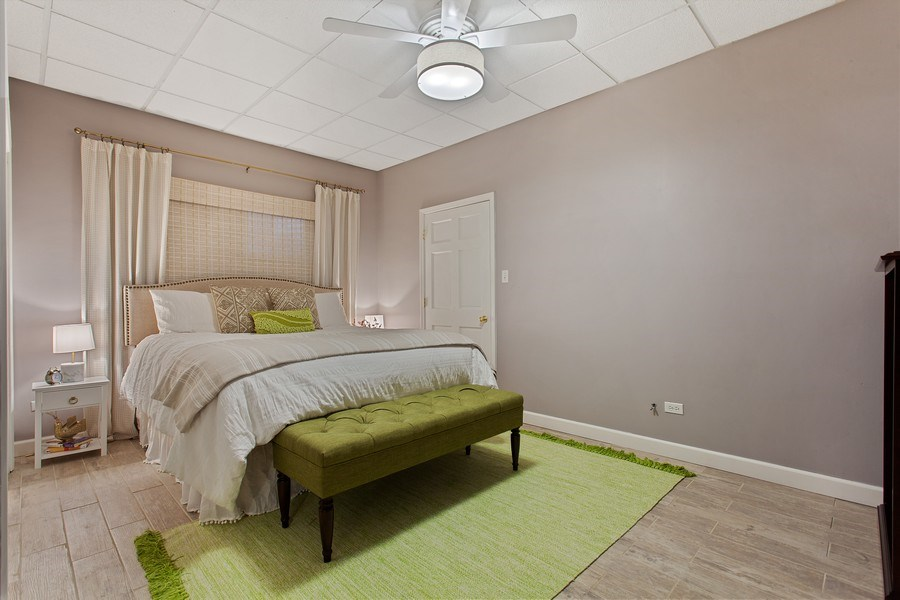 Real Estate Photography - 24547 W. Park River Lane, Shorewood, IL, 60404 - 2nd Bedroom