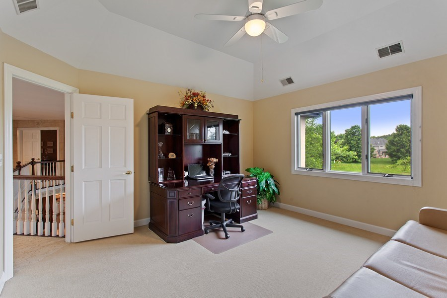 Real Estate Photography - 24547 W. Park River Lane, Shorewood, IL, 60404 - 3rd Bedroom