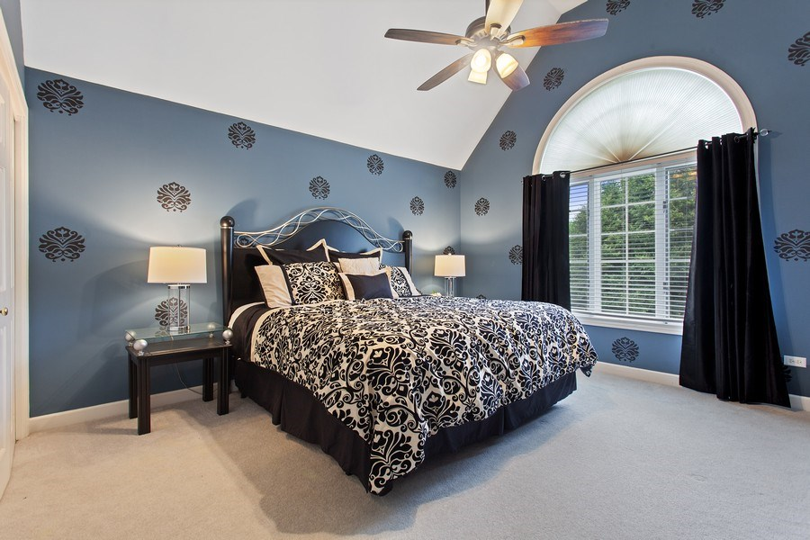 Real Estate Photography - 24547 W. Park River Lane, Shorewood, IL, 60404 - 4th Bedroom
