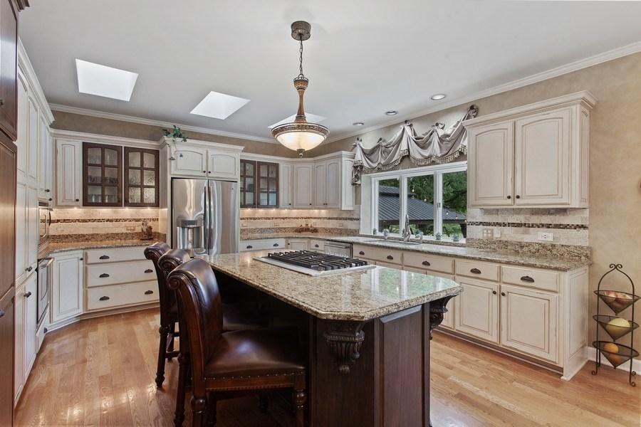 Real Estate Photography - 24547 W. Park River Lane, Shorewood, IL, 60404 - Kitchen