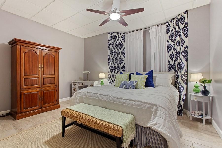 Real Estate Photography - 24547 W. Park River Lane, Shorewood, IL, 60404 - Bedroom