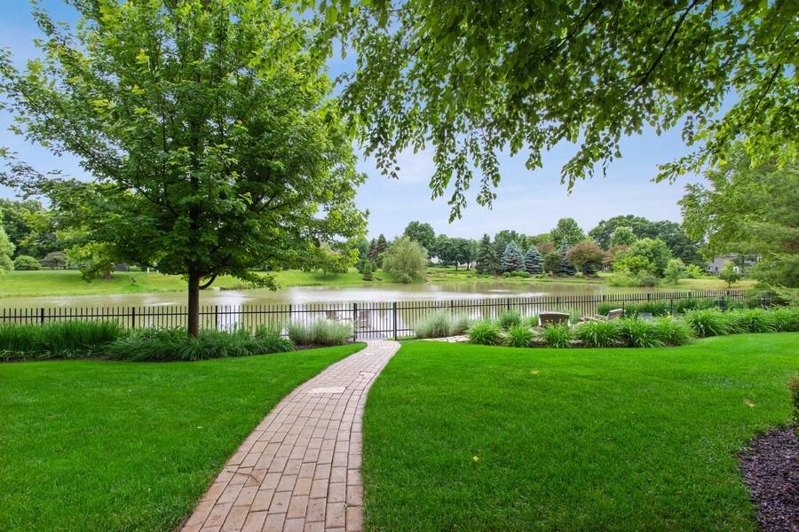 Real Estate Photography - 24547 W. Park River Lane, Shorewood, IL, 60404 - Back Yard