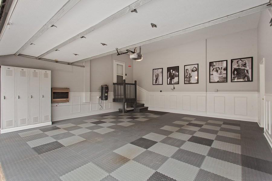 Real Estate Photography - 24547 W. Park River Lane, Shorewood, IL, 60404 - Garage
