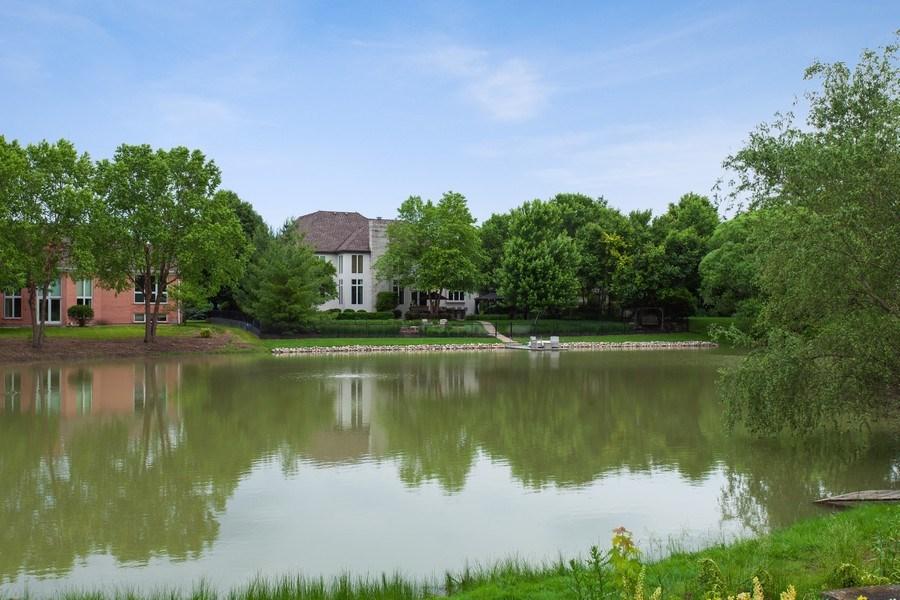 Real Estate Photography - 24547 W. Park River Lane, Shorewood, IL, 60404 - Rear View