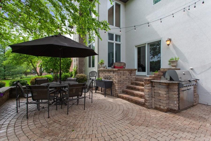 Real Estate Photography - 24547 W. Park River Lane, Shorewood, IL, 60404 - Patio