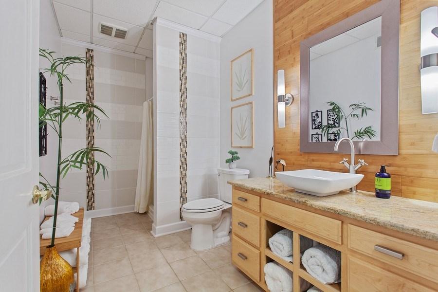 Real Estate Photography - 24547 W. Park River Lane, Shorewood, IL, 60404 - 2nd Bathroom