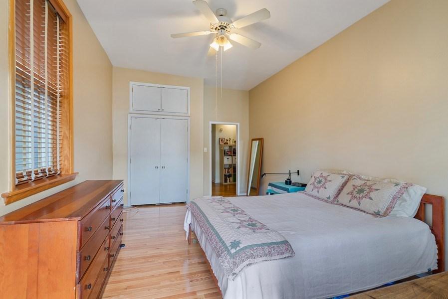 Real Estate Photography - 728 W Aldine Ave, Unit 2E, Chicago, IL, 60657 - Master Bedroom