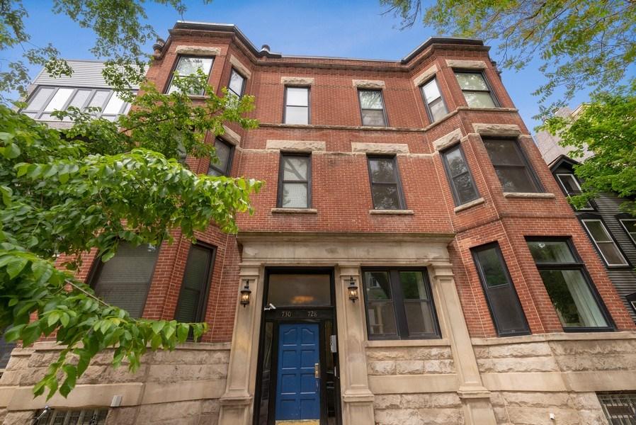 Real Estate Photography - 728 W Aldine Ave, Unit 2E, Chicago, IL, 60657 - Front View