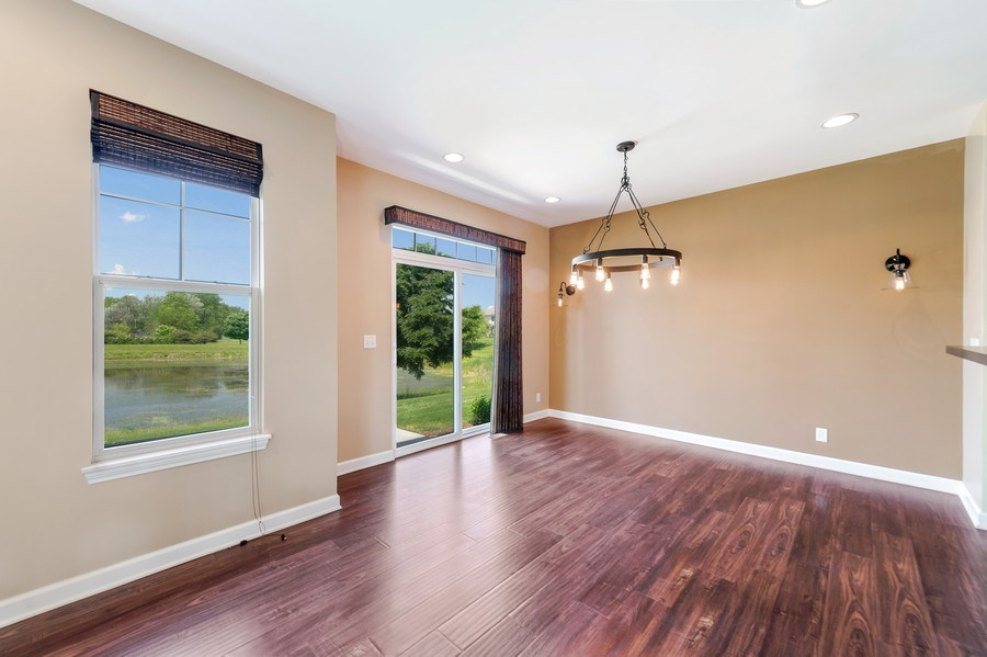 Real Estate Photography - 6N338 Whitmore Cir Unit A, St. Charles, IL, 60174 - Dining Room