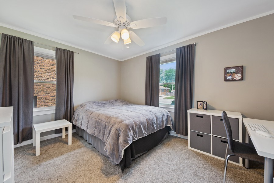 Real Estate Photography - 1502 N Maple Ave, La Grange Park, IL, 60526 - Master Bedroom