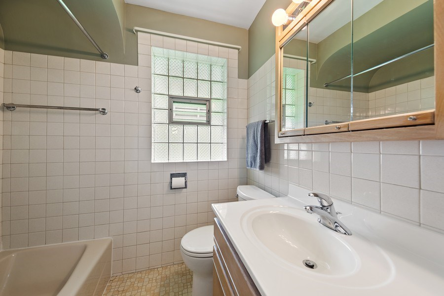 Real Estate Photography - 1502 N Maple Ave, La Grange Park, IL, 60526 - Bathroom
