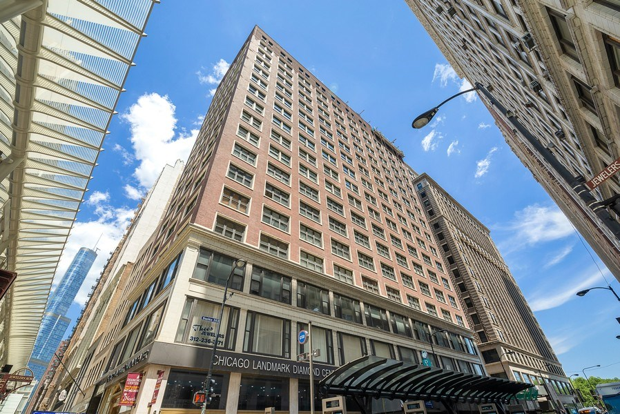 Real Estate Photography - 5 N Wabash, 1606, Chicago, IL, 60602 - Front View