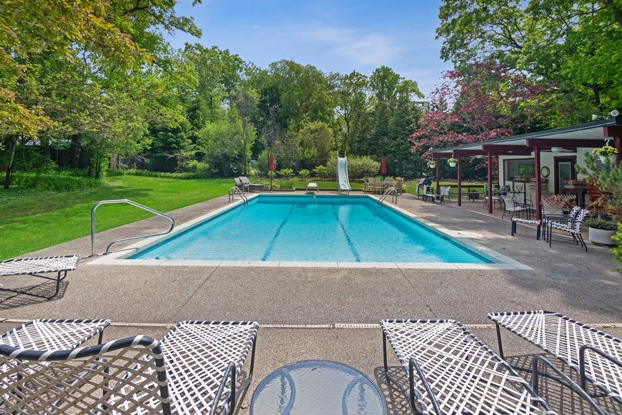 Real Estate Photography - 840 Sheridan Road, Glencoe, IL, 60015 - POOL 20X40 WITH CHANGING ROOMS AND BATHROOMS.