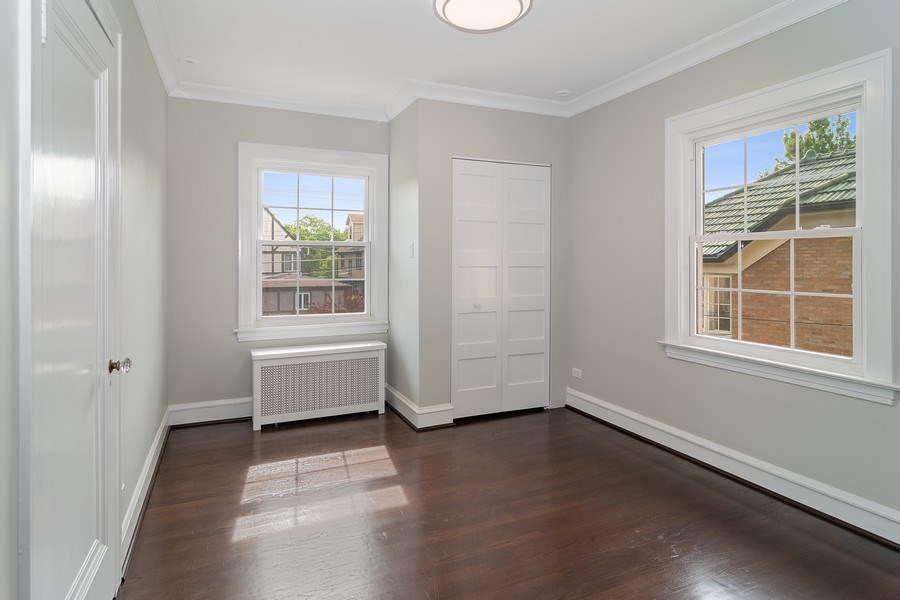 Real Estate Photography - 906 Columbian, Oak Park, IL, 60302 - 3rd Bedroom