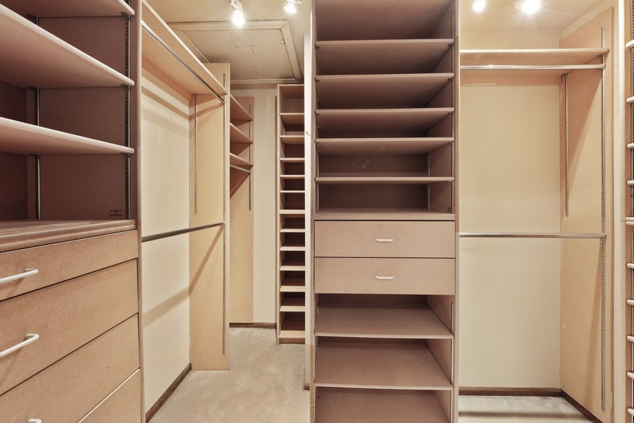 Real Estate Photography - 600 Ruskin Drive, Elk Grove, IL, 60007 - Master Bedroom Closet