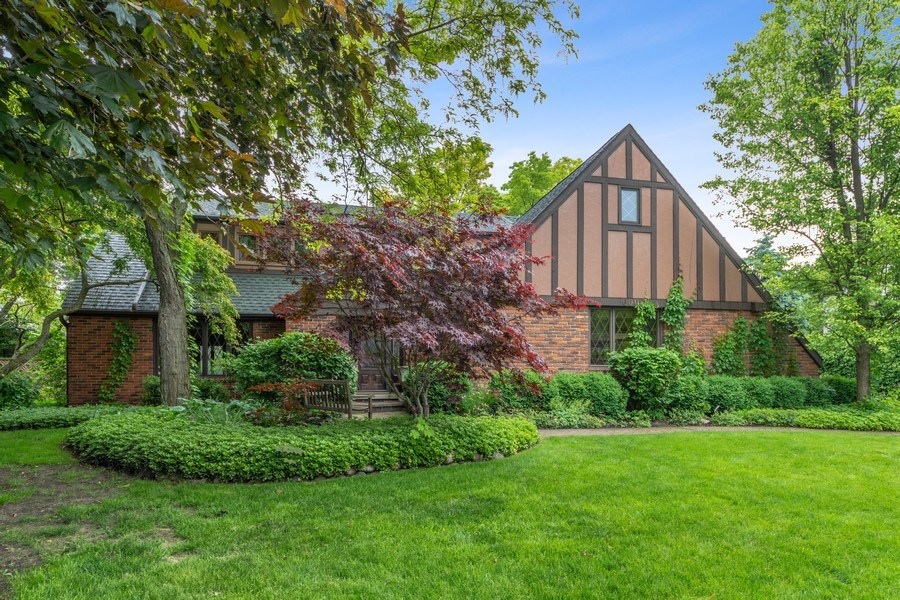 Real Estate Photography - 600 Ruskin Drive, Elk Grove, IL, 60007 - Front View