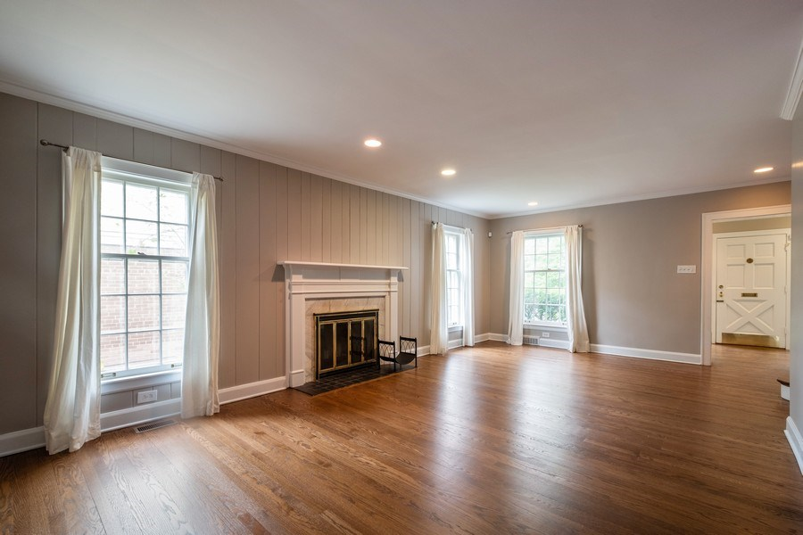 Real Estate Photography - 825 Marion Ave, Highland Park, IL, 60035 - Living Room