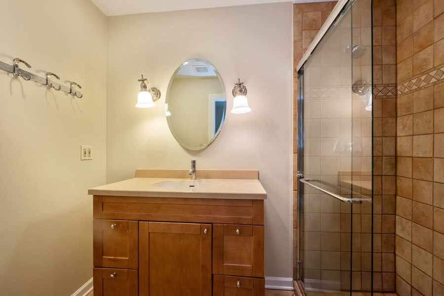 Real Estate Photography - 825 Marion Ave, Highland Park, IL, 60035 - Master Bathroom