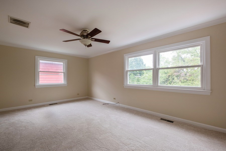 Real Estate Photography - 825 Marion Ave, Highland Park, IL, 60035 - Master Bedroom