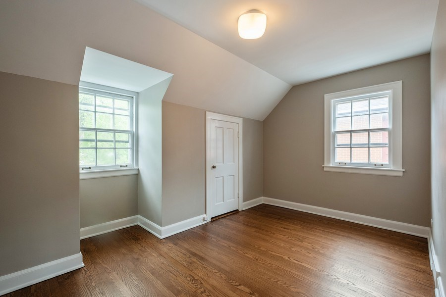 Real Estate Photography - 825 Marion Ave, Highland Park, IL, 60035 - 3rd Bedroom