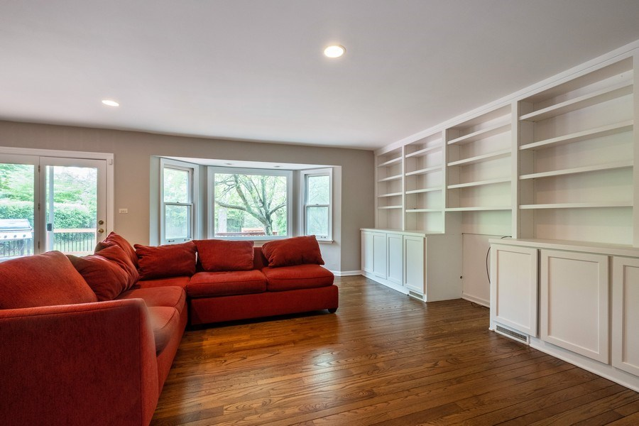 Real Estate Photography - 825 Marion Ave, Highland Park, IL, 60035 - Family Room