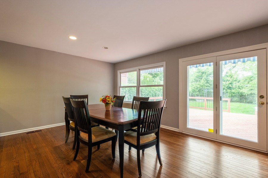 Real Estate Photography - 825 Marion Ave, Highland Park, IL, 60035 - Breakfast Area