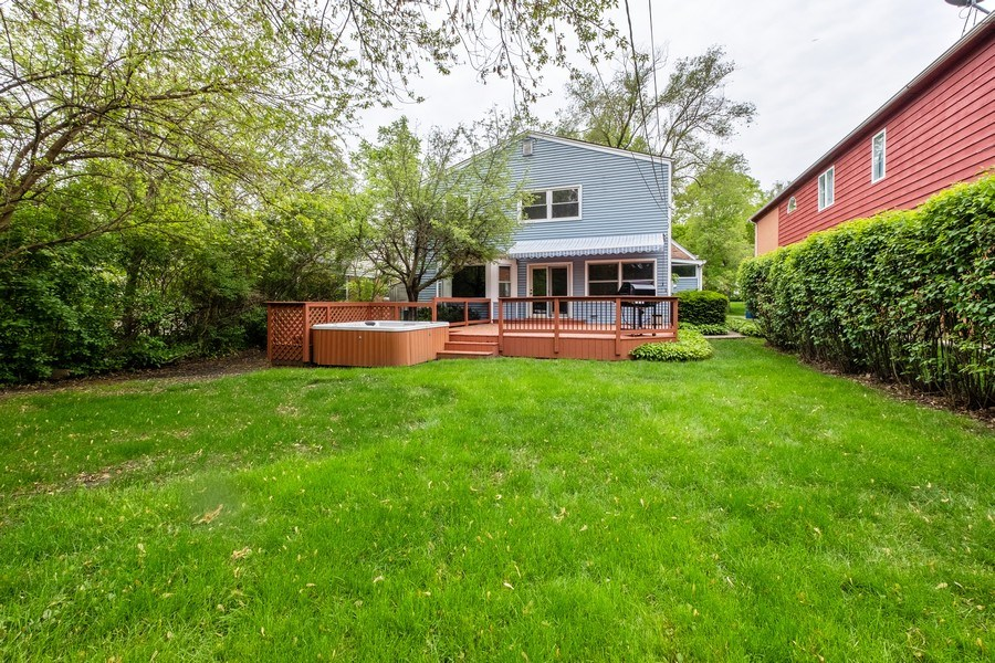 Real Estate Photography - 825 Marion Ave, Highland Park, IL, 60035 - Rear View