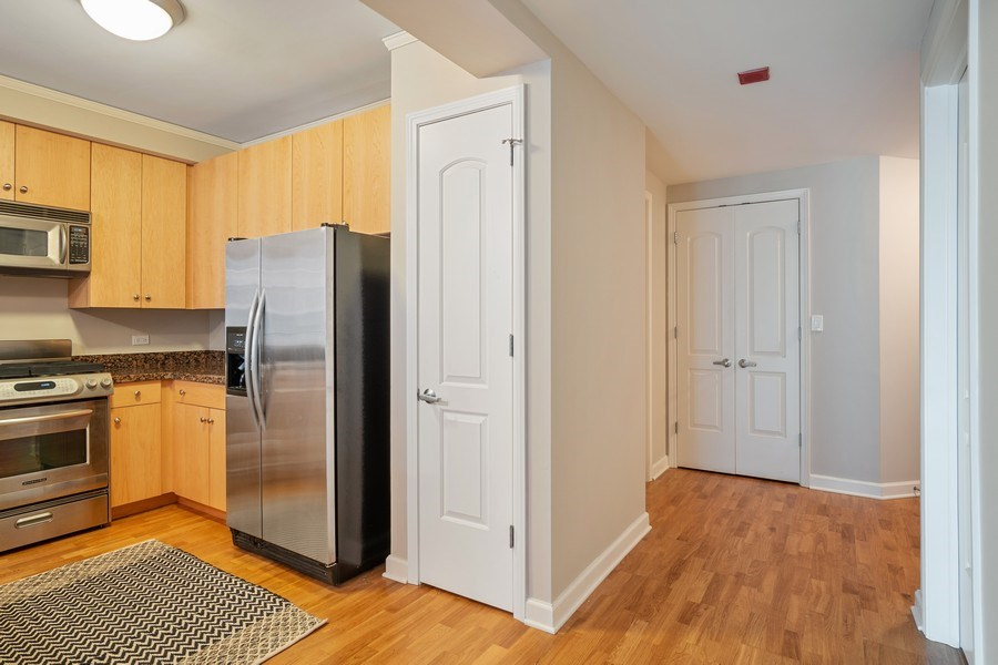 Real Estate Photography - 420 E. Waterside Dr, 1603, Chicago, IL, 60601 - Kitchen